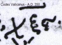 1notthecodexvaticanus666