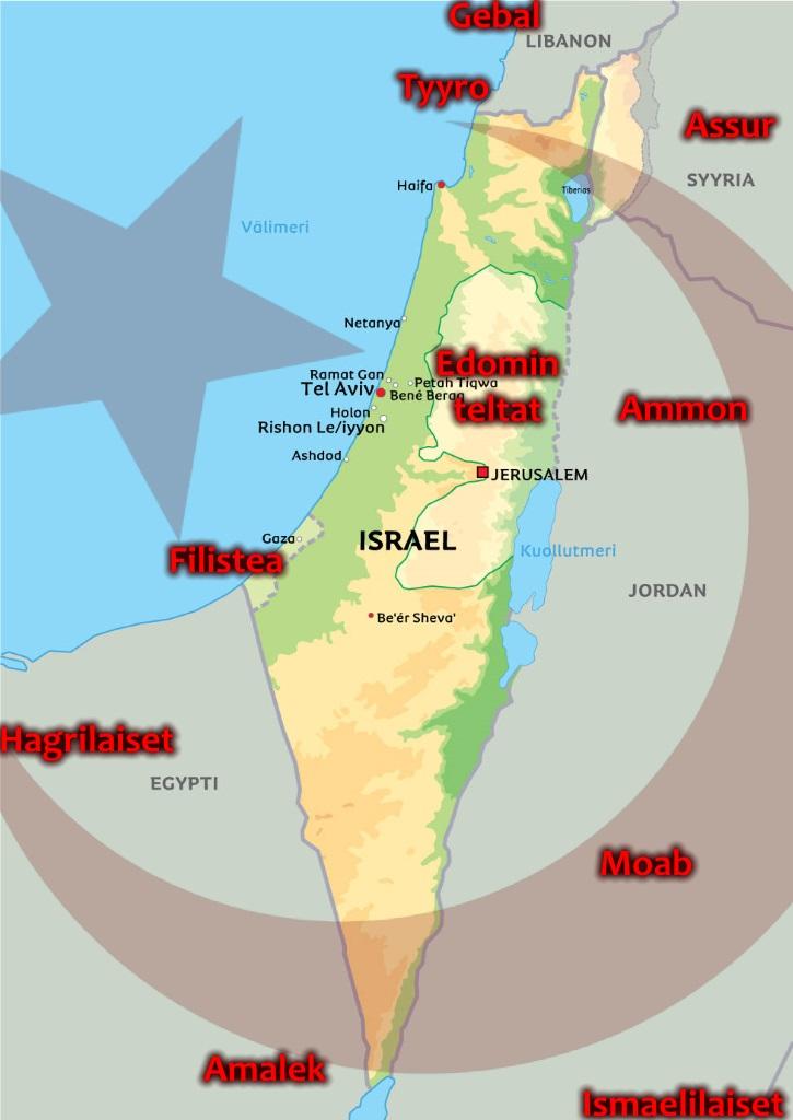 Israel Kartta Kartta