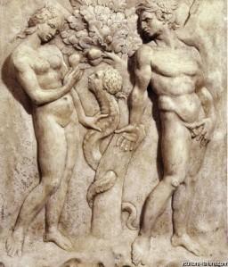 Jacapo della Quercia, Peccato Originale, Portale Maggiore di San Petronio, 1425-38
