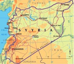 Syyrian kohtalo Kirjoituksissa