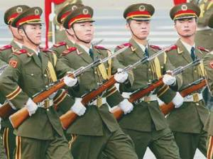 chinese army parade