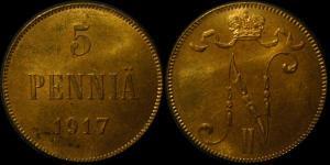 5penniä_1917