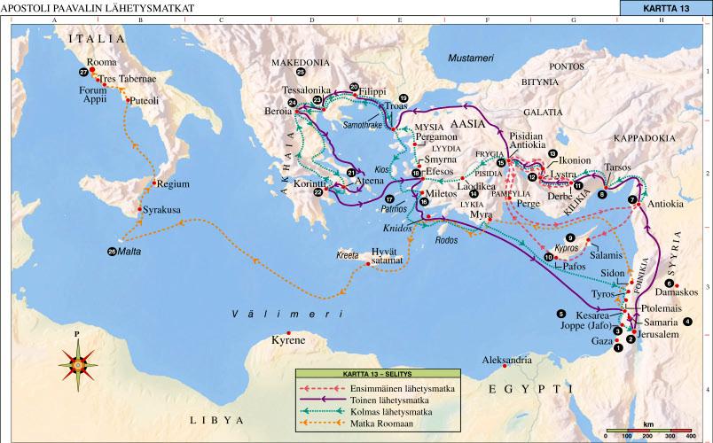 Kartta Matka Kartta