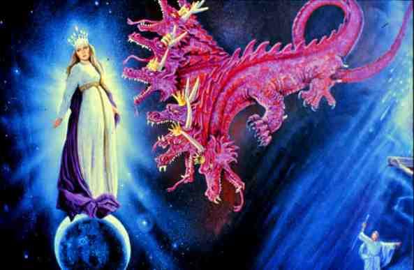Vaimo ja Lohikäärme taistelee