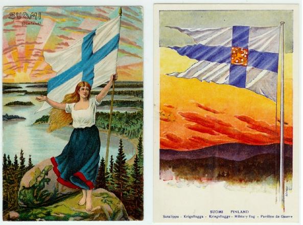 Suomi neito polvillaan