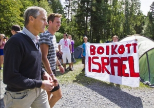 Norway-teenagers-Utoya-Israel-boycott
