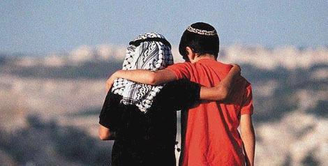 Jewish and Arab boy