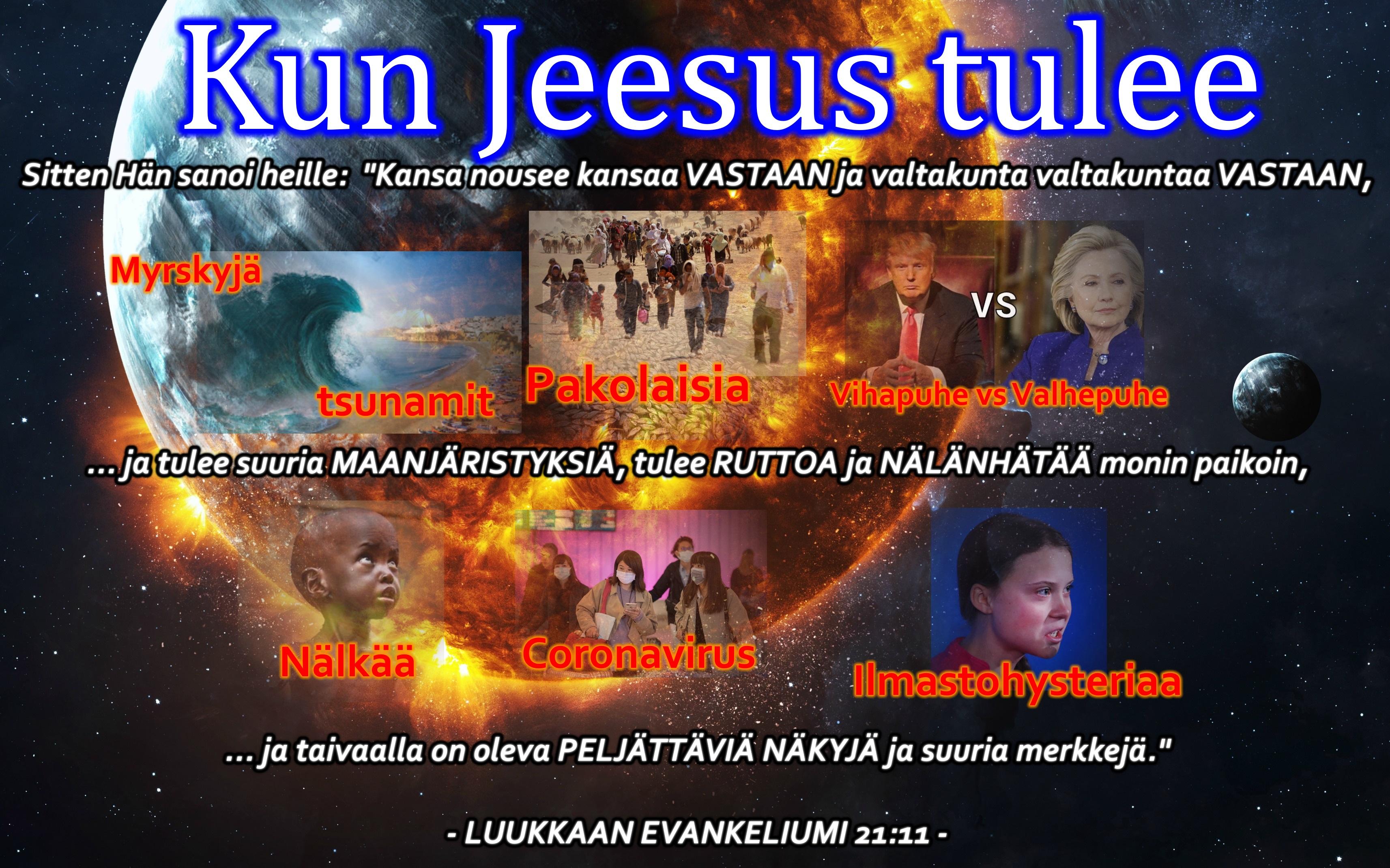 Kun Jeesus tulee